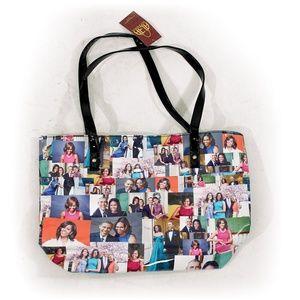 Portraits of Michelle Obama Shoulder/Tote Bag